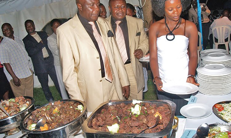 As the rich wine and dine, the poor are left contemplating their next meal