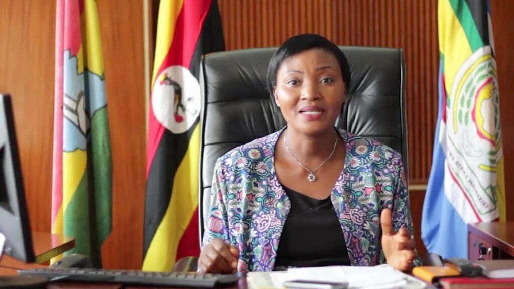 Leader of Opposition and the Kasese Woman MP Winnie Kiizza. Courtesy Photo/Winnie Kiiza.