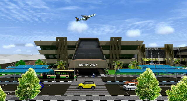 Artistic Impression – Entry section  of Entebbe International Airport