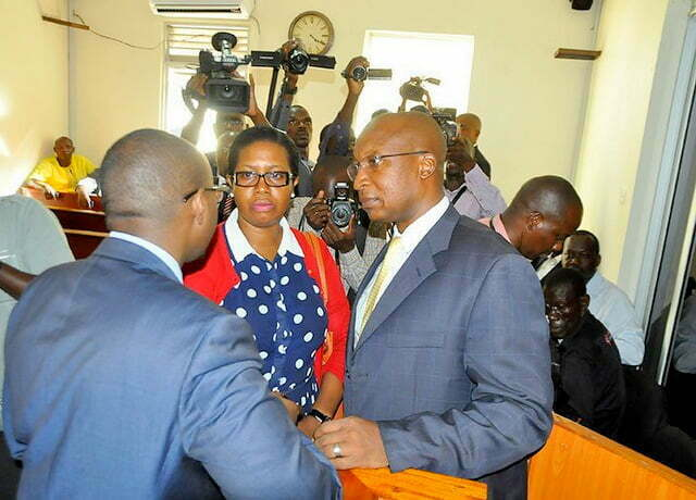 Labour Minister Hebert Kabafunzaki before court