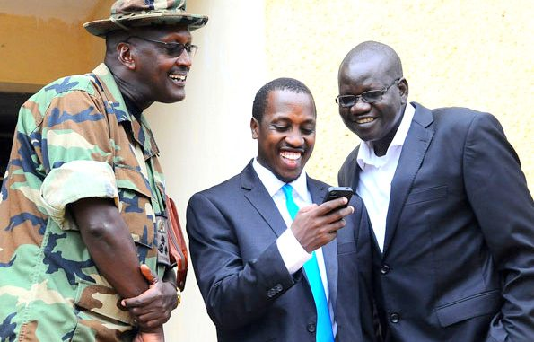 Brig. Tumukunde and the rebel MPs