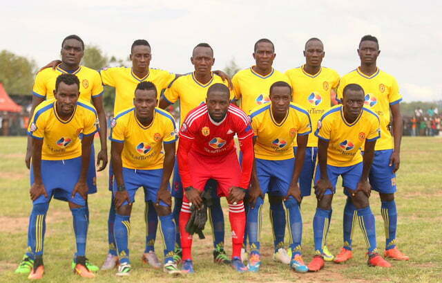 KCCA FC players