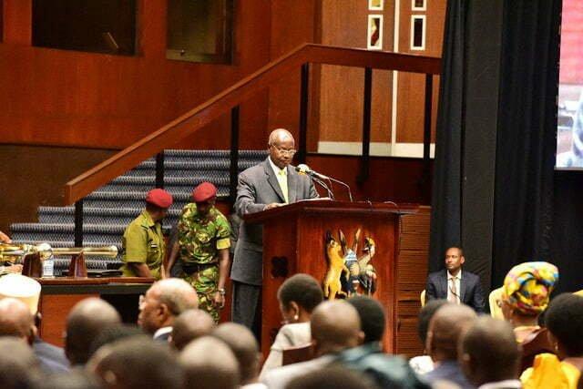 Museveni State of the nation address