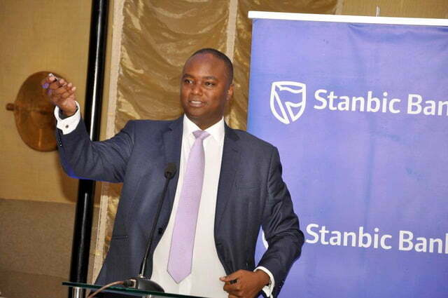 Patrick Mweheire, the Chief Executive Officer of Stanbic Bank Uganda