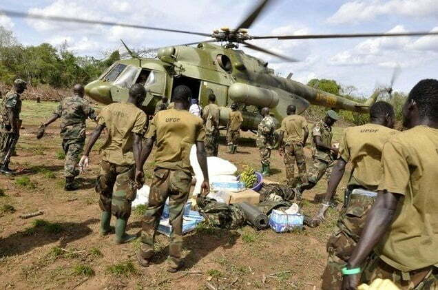 UPDF withdraw from Central African Republic (CAR)