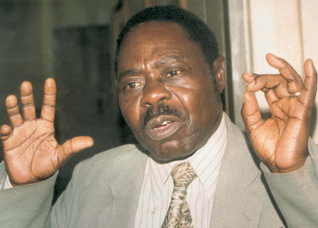 Former Kampala Mayor John Ssebaana KizitoPhoto by Kenndey OryemaSeptember 1999