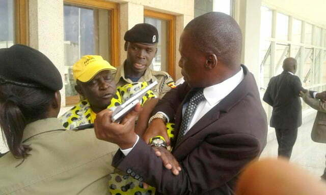Fist fight at parliament between Ibrahim Abiriga, the Arua municipality member of parliament and Ayivu MP Bernard Atiku