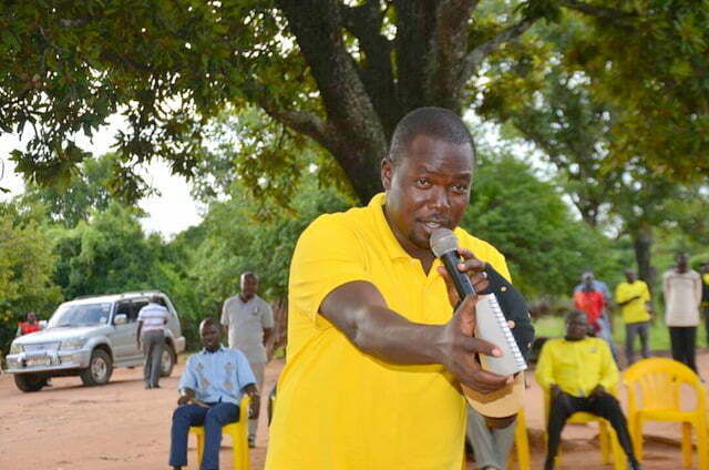 NRM party Deputy Secretary General, Richard Todwong
