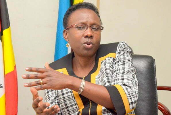Minister of Health Jane Ruth Aceng