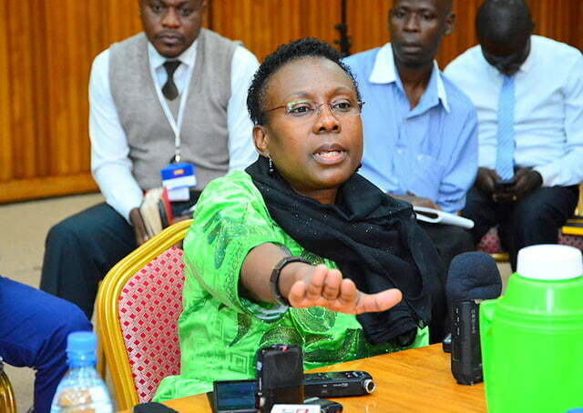 Minister-of-health-Jane-Ruth-Aceng-during-the-health-committee-on-doctors-strike