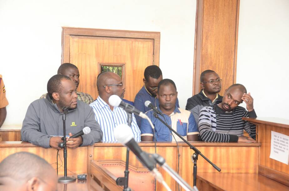 Red Pepper Publication suspects in Court