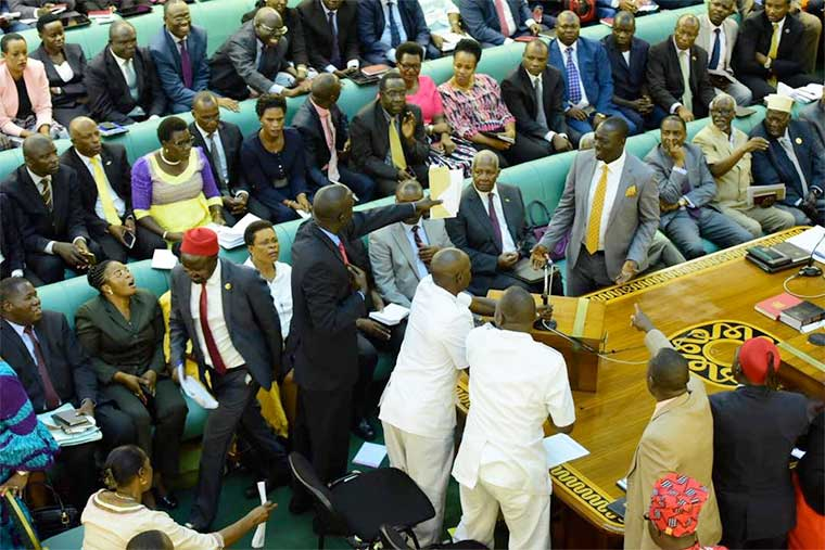 Charged MPs debate age limit bill