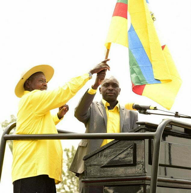 President Museveni in Ruhaama