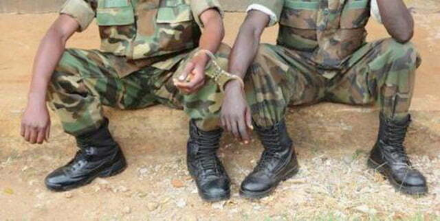Two UPDF soldiers arrested