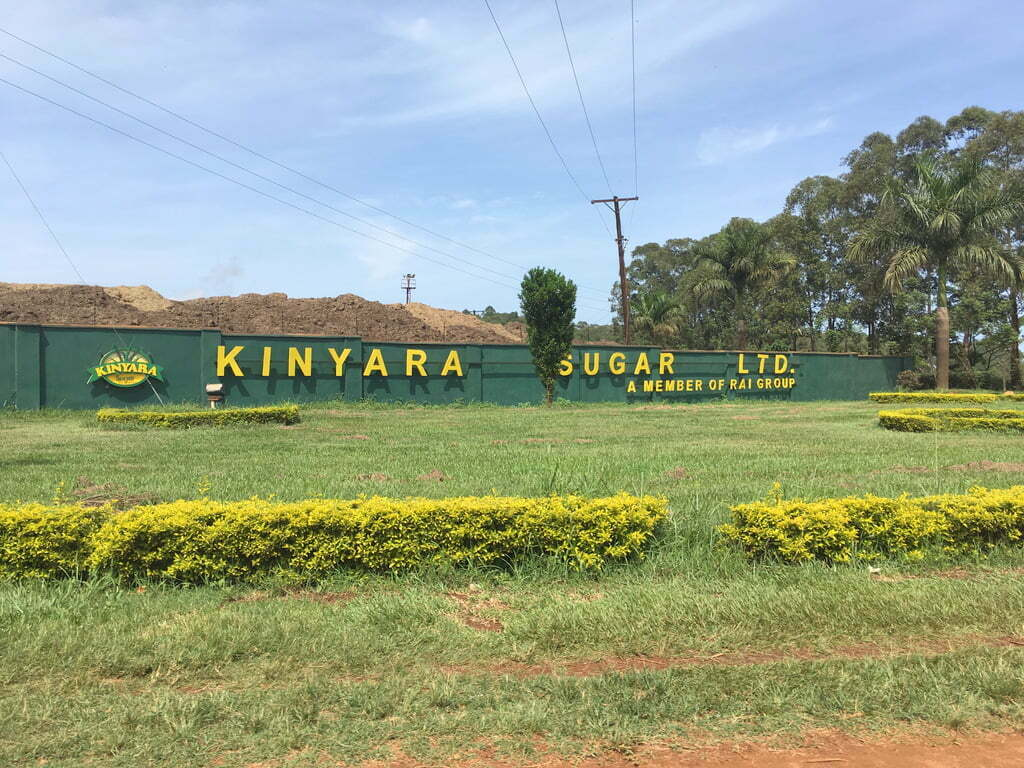 Kinyara Sugar Company Limited in Masindi district