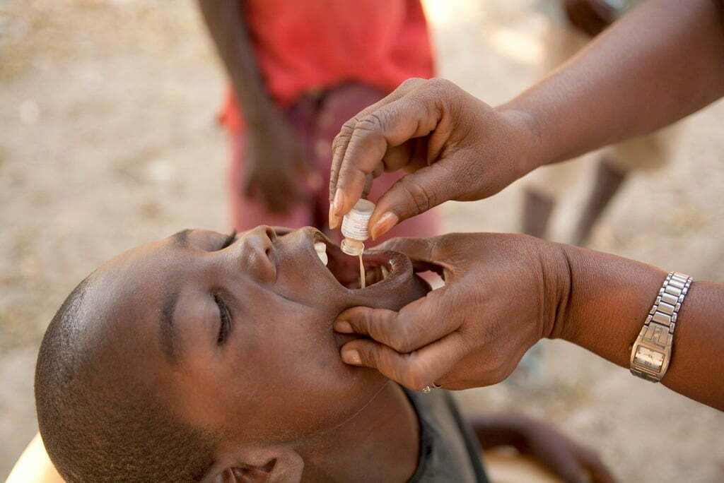Mass Oral Cholera Vaccination Kicks off in Hoima