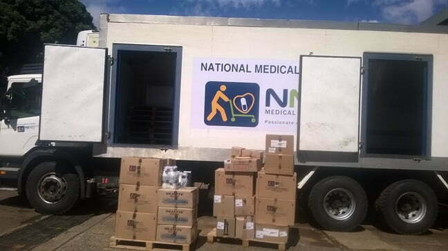 National Medical Stores (NMS) supply of medicine