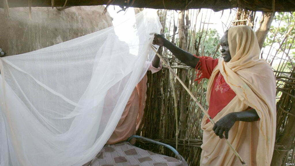 Free Mosquito Nets for Refugees in Uganda