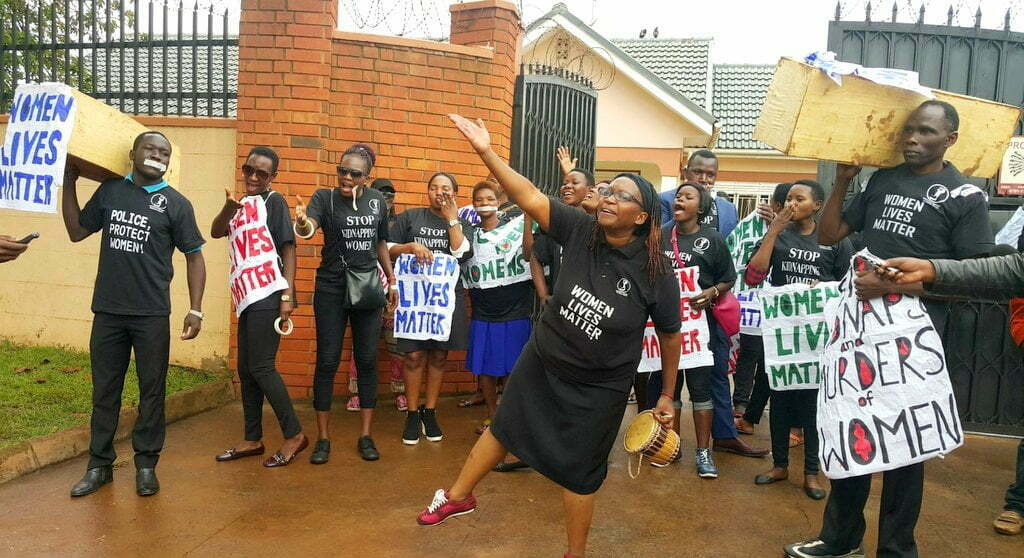 Hundreds attend Stella Nyanzi's 'One Million March' event 3