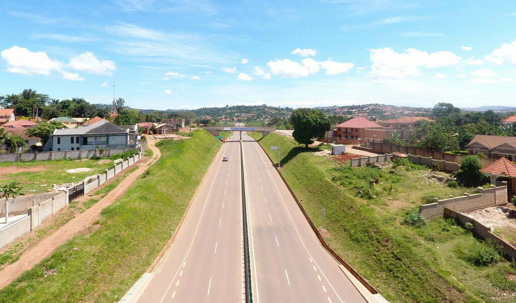 Kampala-Entebbe express highway will be officially opened for public use on June 15, 2018