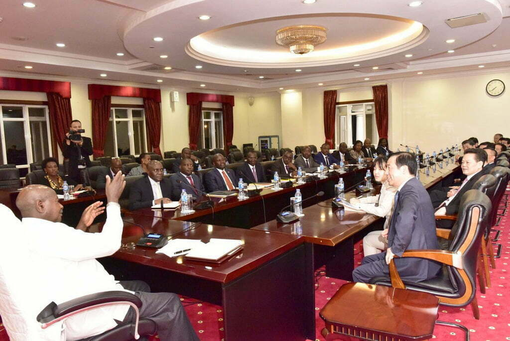 Museveni To Chinese – We Want Market For Our Agro Products
