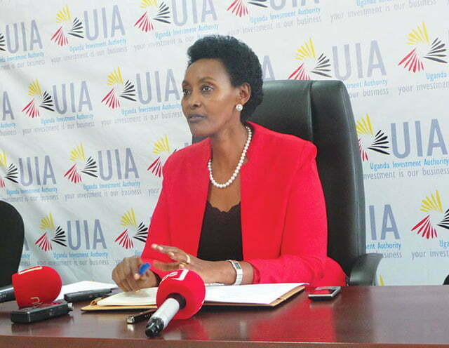 Uganda Investments Authority Executive Director Ms Jolly Kaguhangire