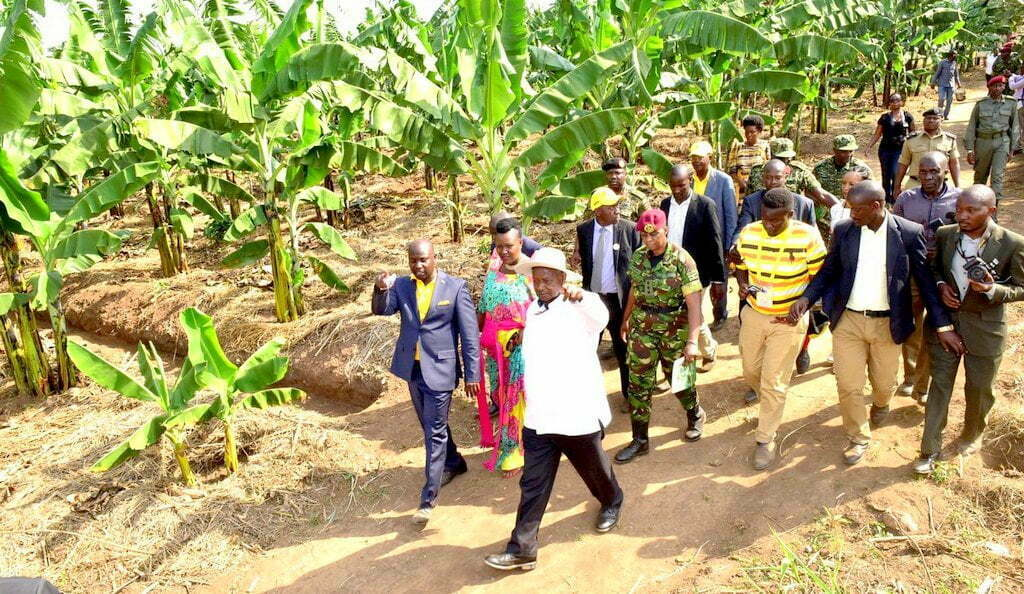 Naava allegedly attempted to sell to Museveni land she doesn't own