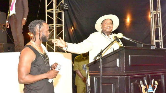 Music industry doing well because of peace – Museveni