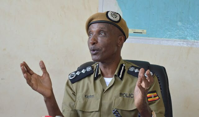 Former Inspector General of the Uganda Police Force; Gen. Kale Kayihura