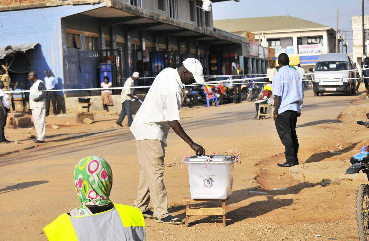 Voting in Arua by-election