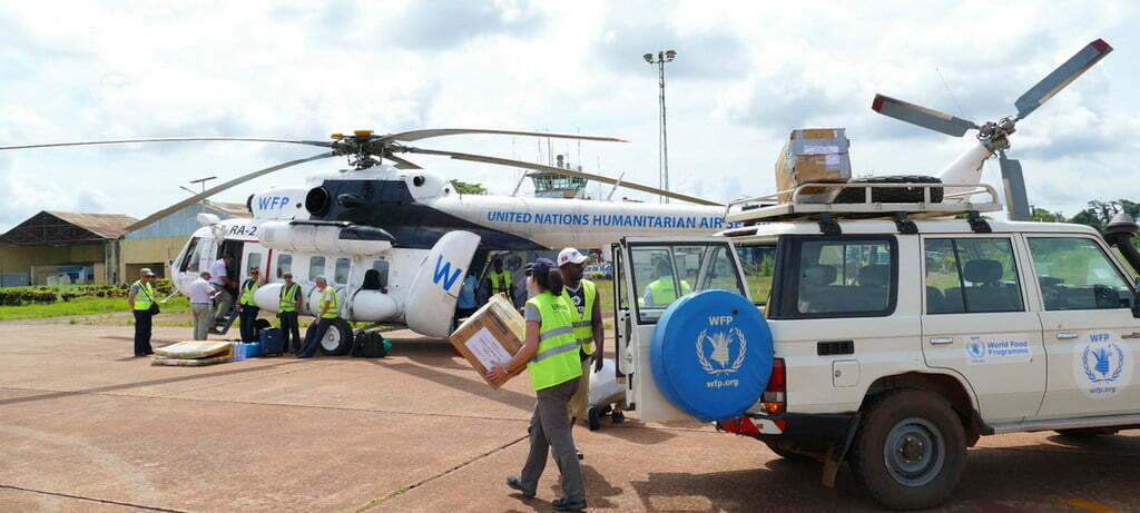 WFP airlifts aid to DRC province hit by Ebola outbreak