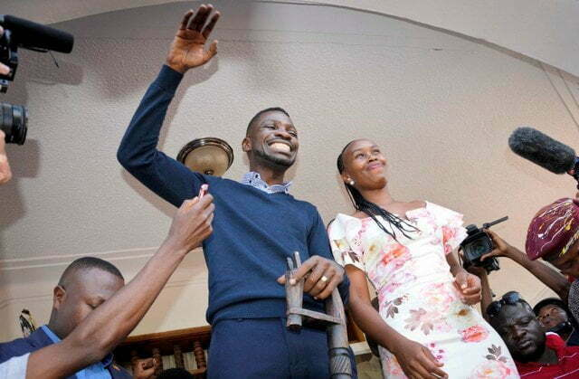 Bobi Wine Returns in Uganda