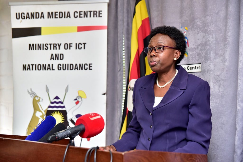 Health Minister, Dr Jane Ruth Aceng