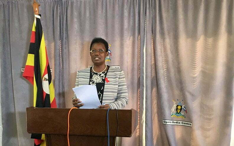 Minister for Presidency  Ms Esther Mbayo