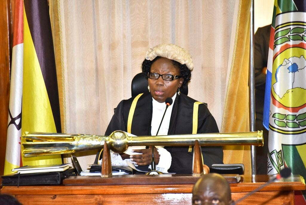 Speaker of Parliament Rebecca Kadaga