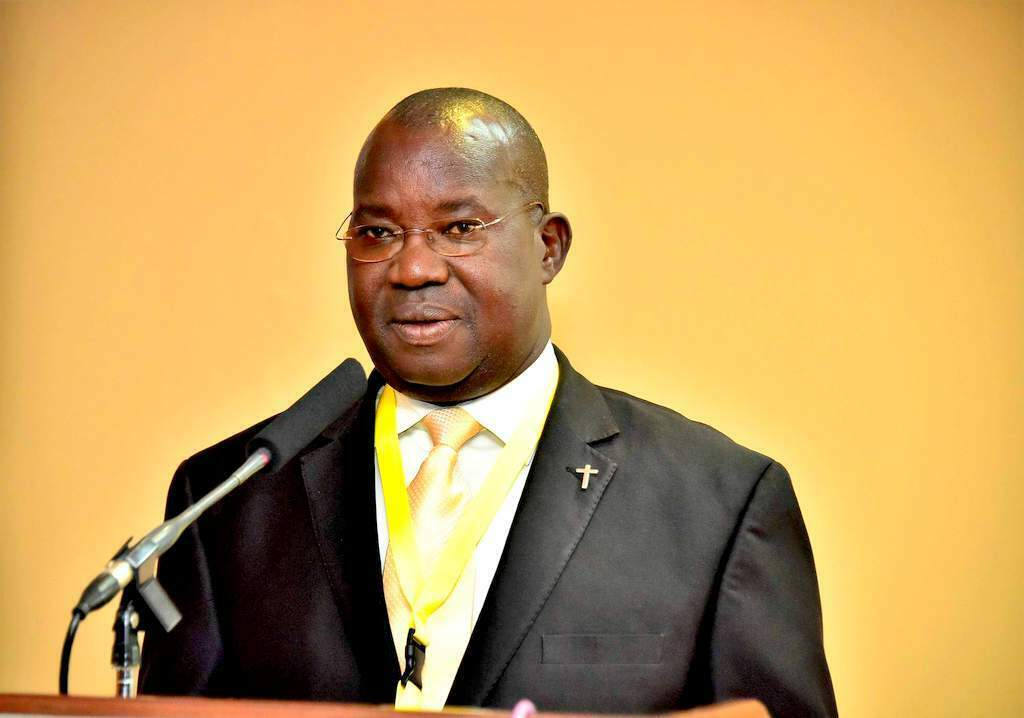 State Minister for Ethics and Integrity, Fr. Simon Lokodo