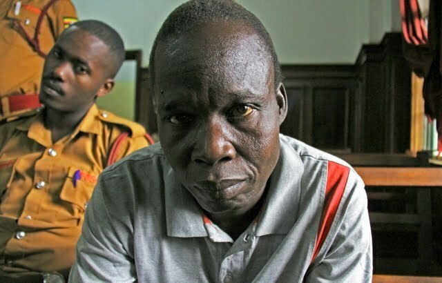 Former LRA rebel commander Thomas Kwoyelo