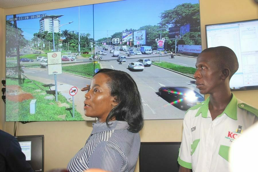 KCCA launch traffic control centre to monitor all traffic lights in Kampala