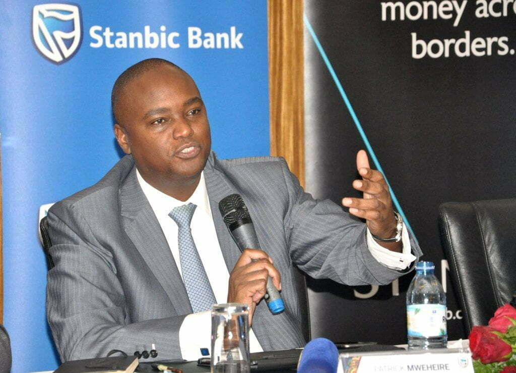 Stanbic Bank Uganda Chief Executive Officer Patrick Mweheire
