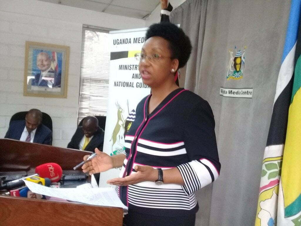 The Permanent Secretary in the Ministry of Public Service, Catherine Musingwire