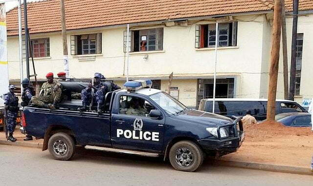 Police-truck-parked-at-Kira-police-station