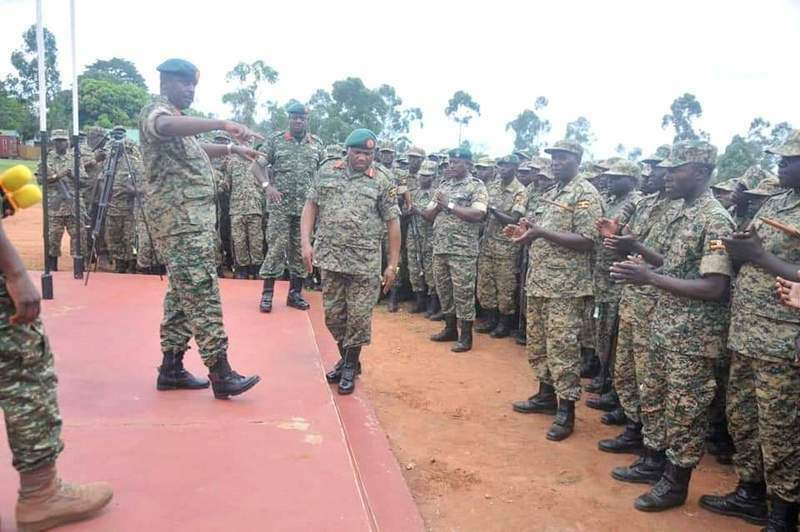 CDF Flags Off More UPDF Troops To Somalia