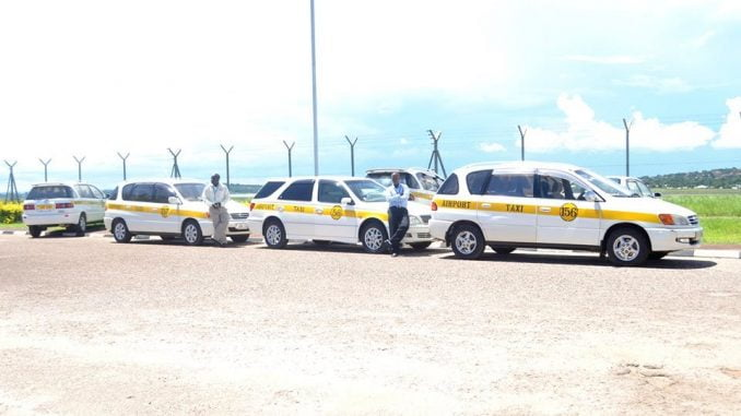 10-year-old taxis banned from Entebbe International Airport