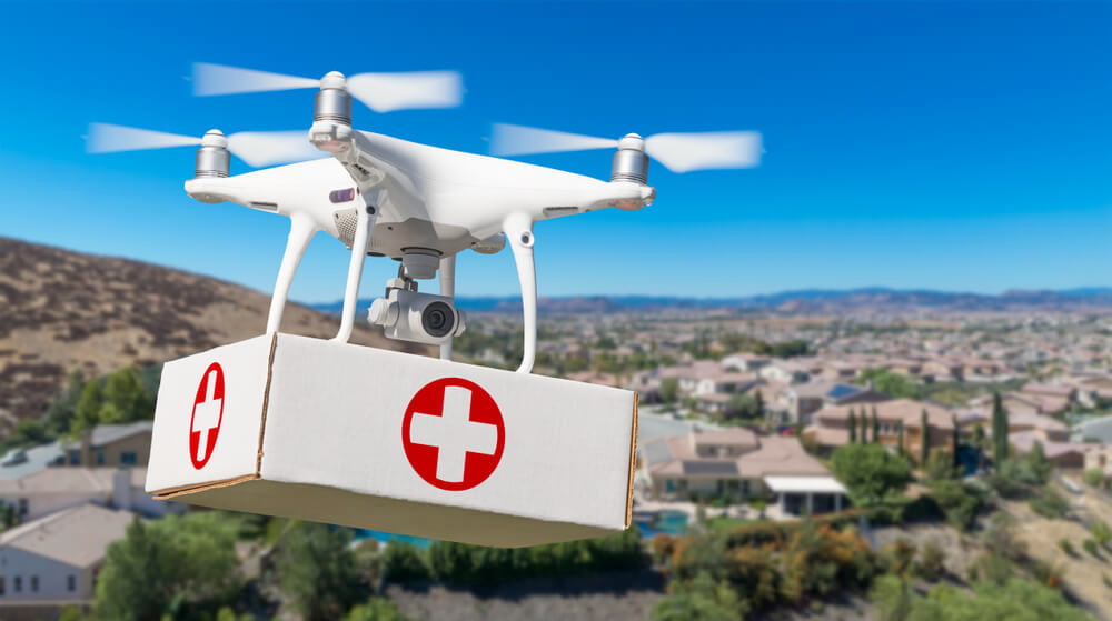 Kalangala to Use Drones to Deliver ARV Drugs