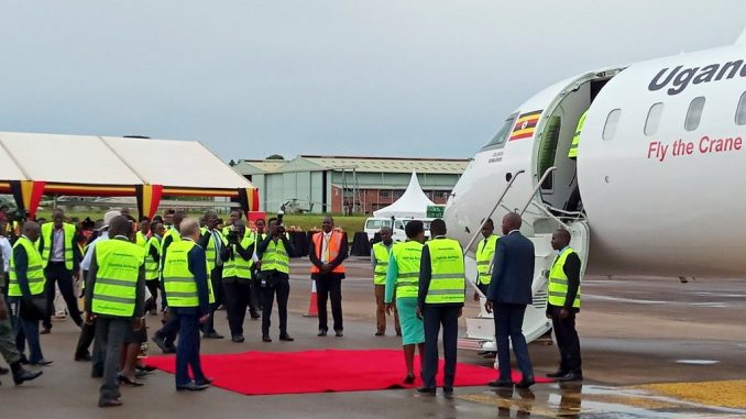 First two Bombardier planes for revived Uganda Airlines arrive