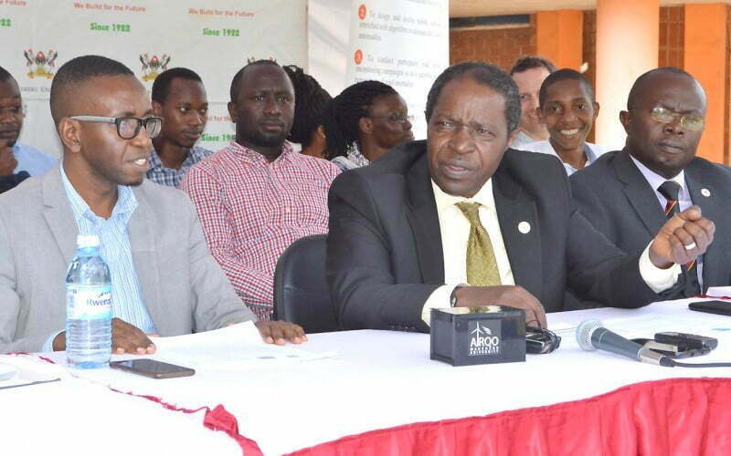 Makerere-CoCIS-AirQo-Project-Press-Briefing-8th May, 2019