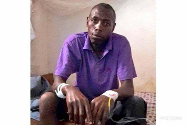 Rwandan national, Nadayimana Innocent who was shot