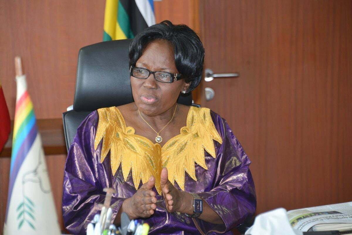 Speaker of Parliament, Rebecca Kadaga