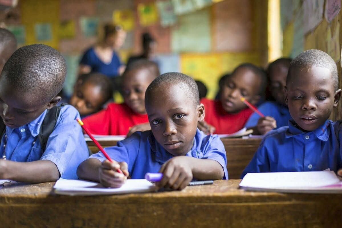 Ugandan children can only achieve 38% productivity as adults 2