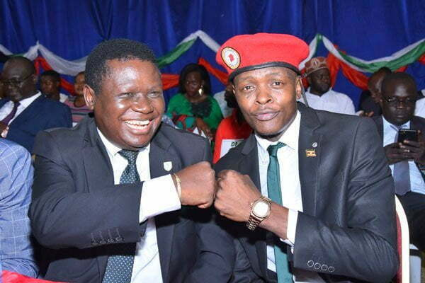 Jose Chameleone officially joins the Democratic Party (DP) 1